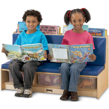 Jonti-Craft Kids Literacy Couch