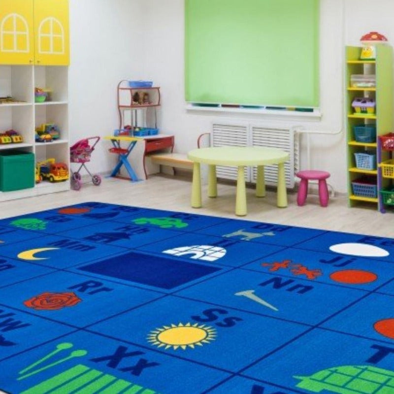 Alphabet Seating Factory Second Rug