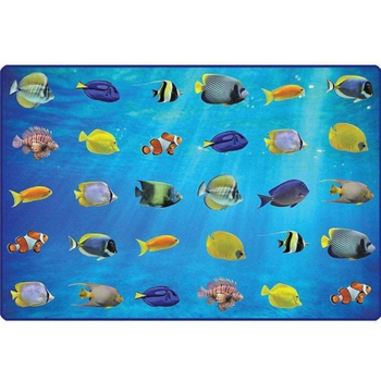 Friendly Fish Seating Rug