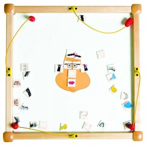 Funny Face Wall Activity Toy - Gressco