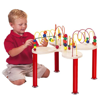 Mini Curves & Waves Activity Bead Table