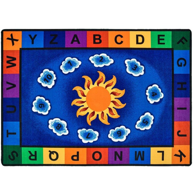Sunny Day Learn and Play Factory Second Rug