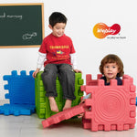 KT1001 Weplay Tactile Cube Building Set
