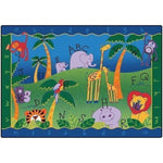 Alphabet Jungle Factory Second Rug