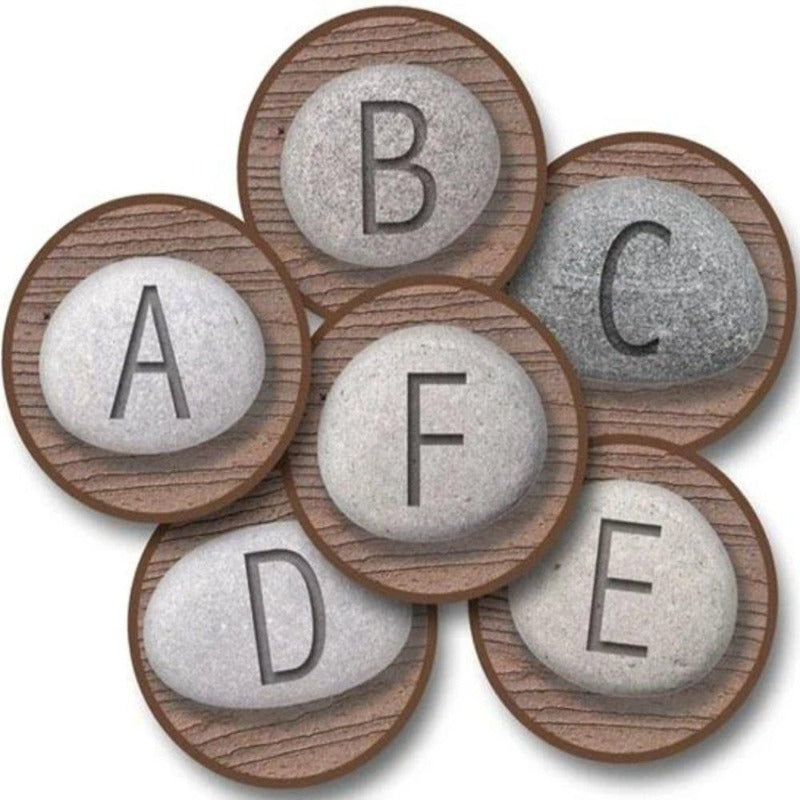 Alphabet Stones Round Carpet Kit - Set of 26