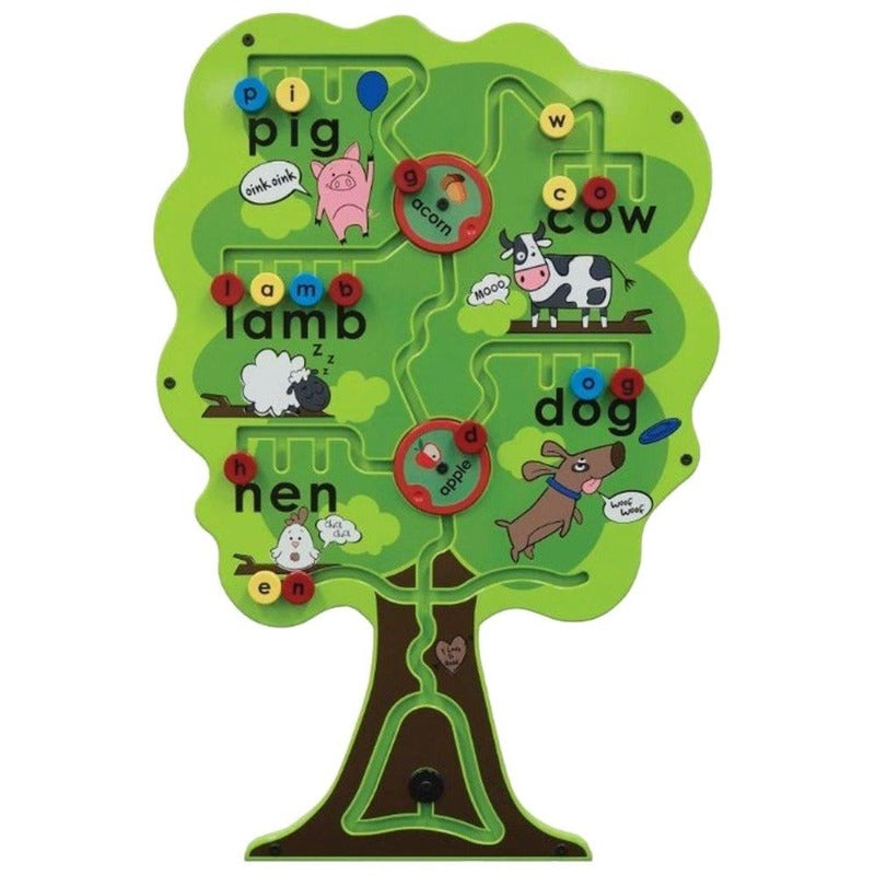 Alphabet Tree Activity Wall Toy
