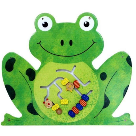 Frog Wall Panel Toy | Wall Toys for Waiting Areas Anatex