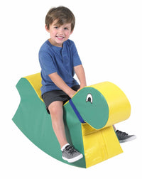 Big Green Rocky Soft Play Ride on Toy