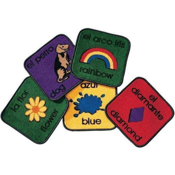 Bilingual Phonics Carpet Squares