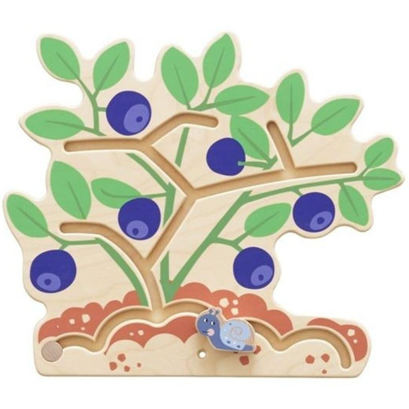 Blueberry Bush Wood Wall Panel