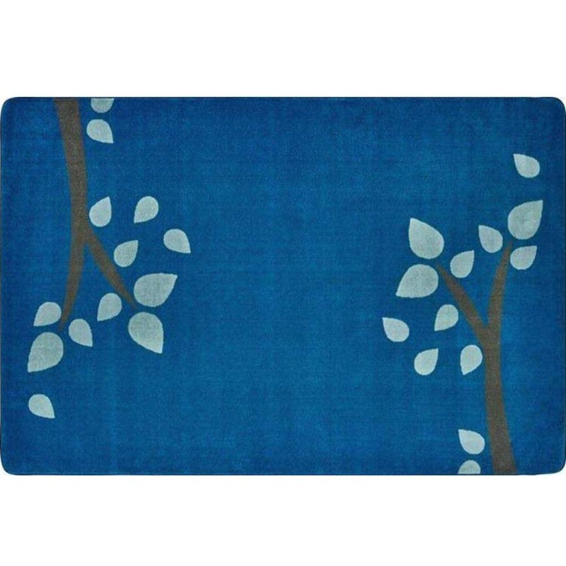 Branching Out Blue Factory Second Rug