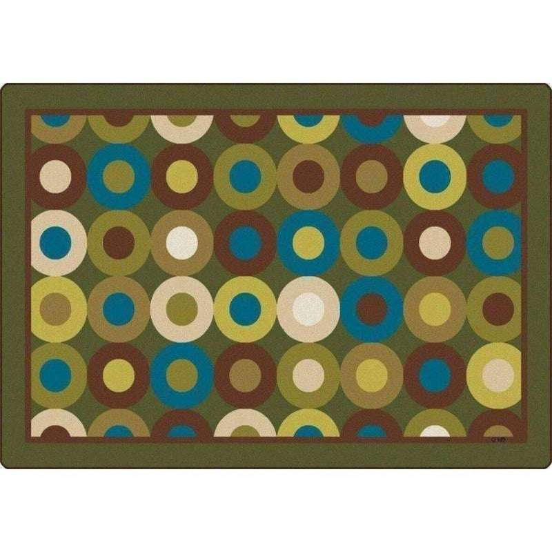 Calming Circles Rug Factory Second