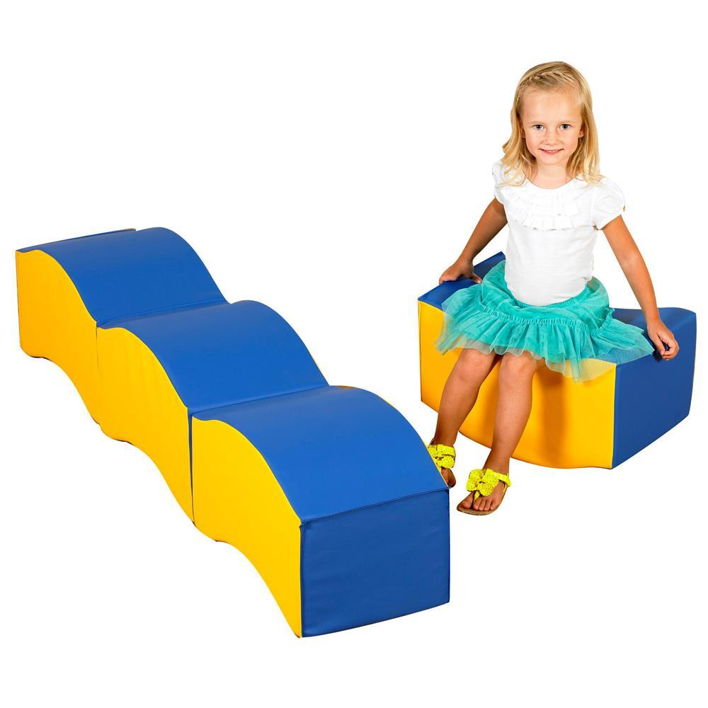 Children's Soft Touch Wave Seats