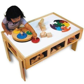 Child's Wooden Activity Table