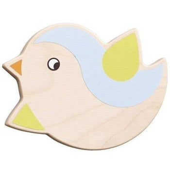 Chubby Little Robin Wall Decor - Blue 053295