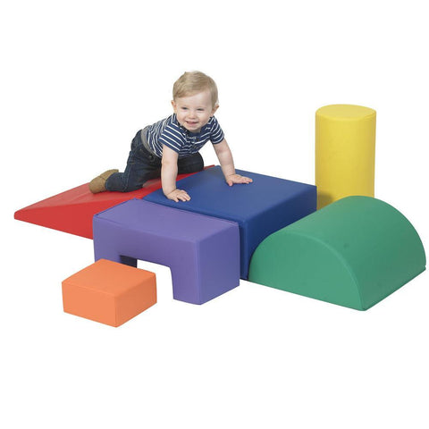 Climb and Play 6 Piece Primary Colors Set