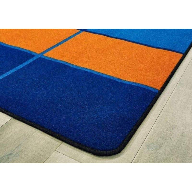 Color Blocks Seating Factory Second Rug