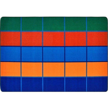 Color Blocks Seating Rug
