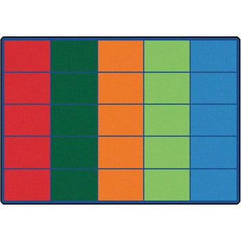 Colorful Rows Seating Rug