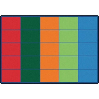 Colorful Rows Seating Rug - Factory Second
