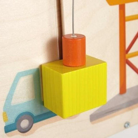 Construction Crane Wall Activity Panel 150541 HABA