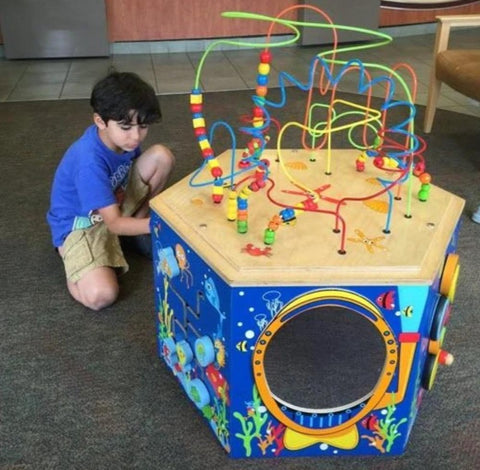 Coral Reef Activity Cube