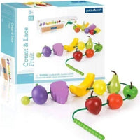 Count and Lace Activity Toy