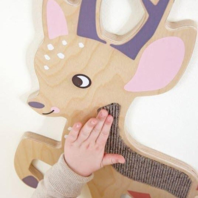 Deer Wooden Play Wall Decoration