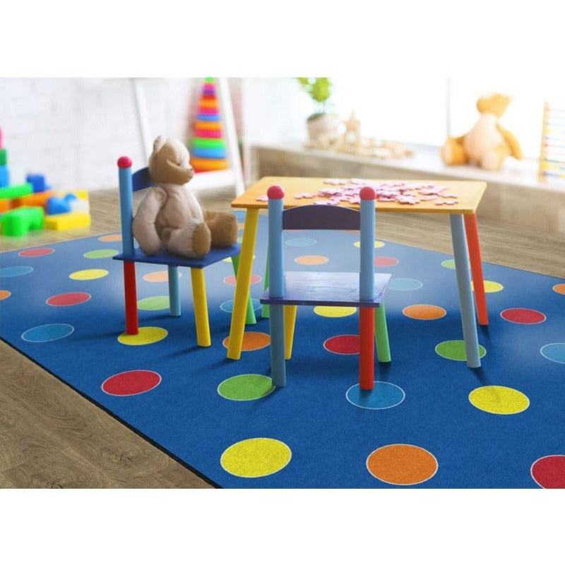 Dots Primary Rug