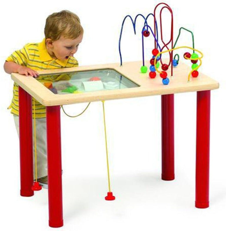 Dune Racer & Bead Blast Vehicle Activity Table - Playscapes 15-BVT-001