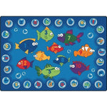 Fishing for Literacy Factory Second Rug