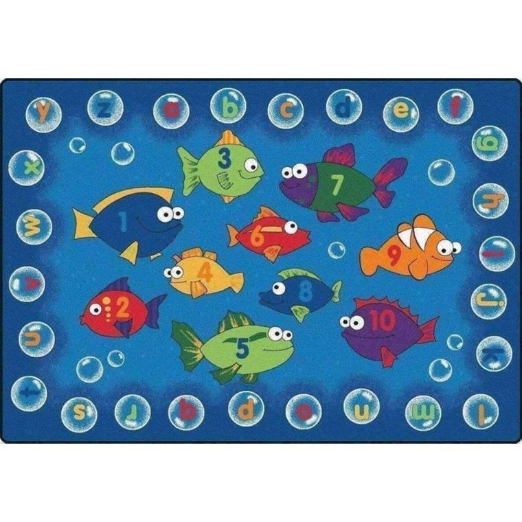 Fishing for Literacy Rug