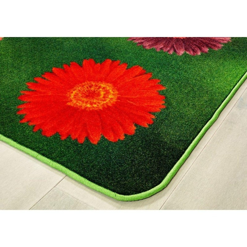 Flower Power Seating Rug