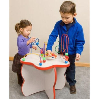 Flower Shaped Wire & Beads Activity Table - 25-WBT-002 Gressco