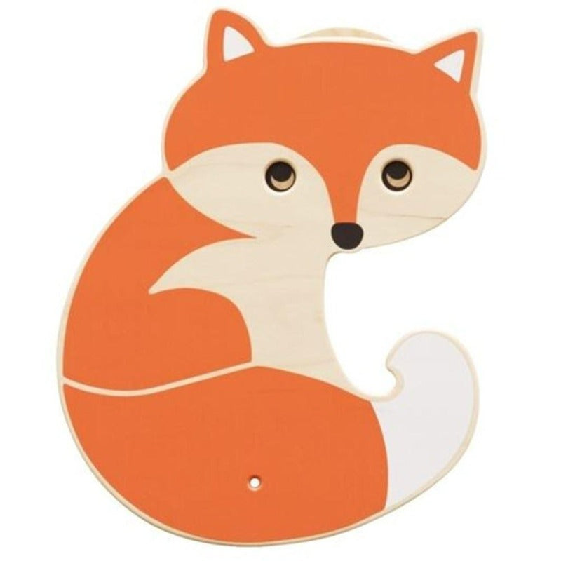 Fox Wooden Play Wall Decoration