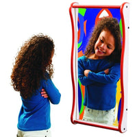 Funhouse Faces Giggle Wall Mirror - Gressco