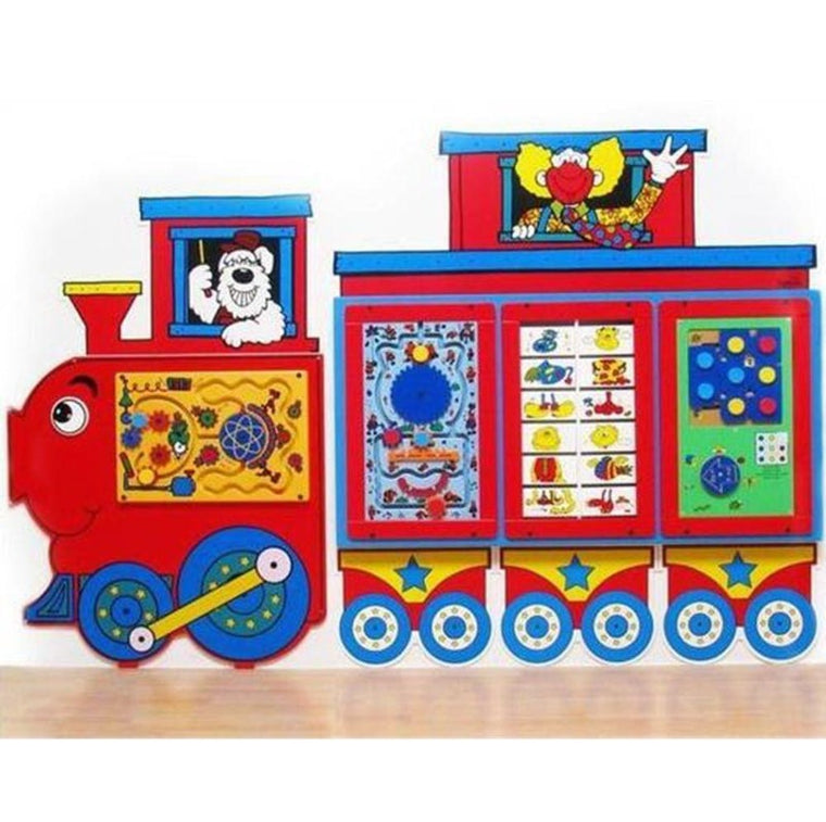 Fun Train Activity Wall Panel - Keebee SST-135-138
