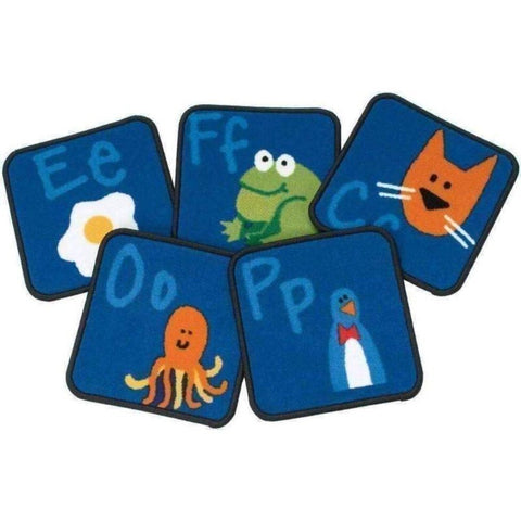 Fun with Phonics Carpet Squares - Set of 26