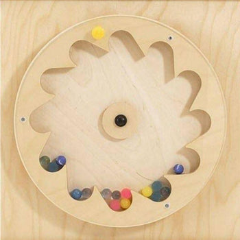 Gear Wheel Rubber Balls Wall Panel for Kids - HABA 120393