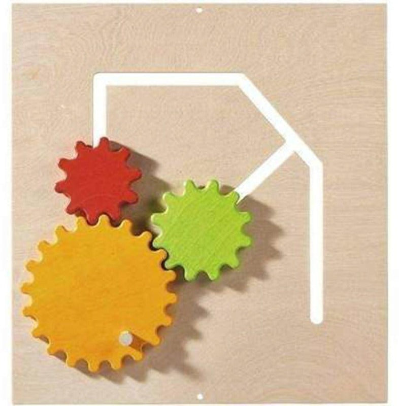 Gear Wheels Sensory Panel for Waiting Areas - HABA 120389