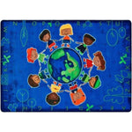 Give the Planet a Hug Factory Second Rug