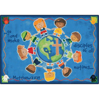Great Commission Faith Rug