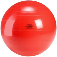 "Gymnic Classic 22"" Red Therapy Ball"