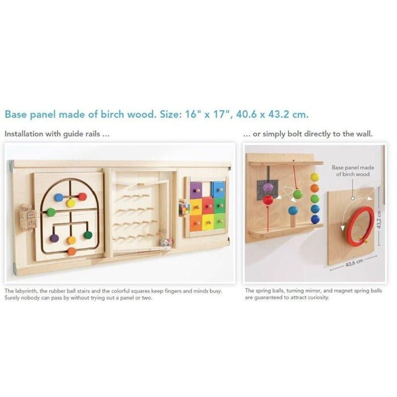 HABA Guide Rails for Sensory Wall Panels