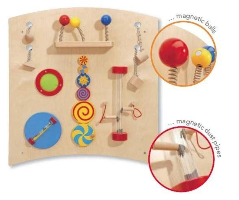 Haba Learning & Sensory Wall Activity Curve B