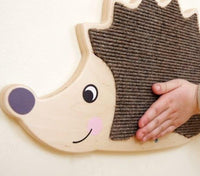 Hedgehog Wooden Play Wall Decoration
