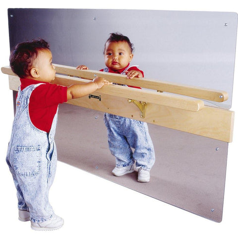 Infant Coordination Mirror with Rail