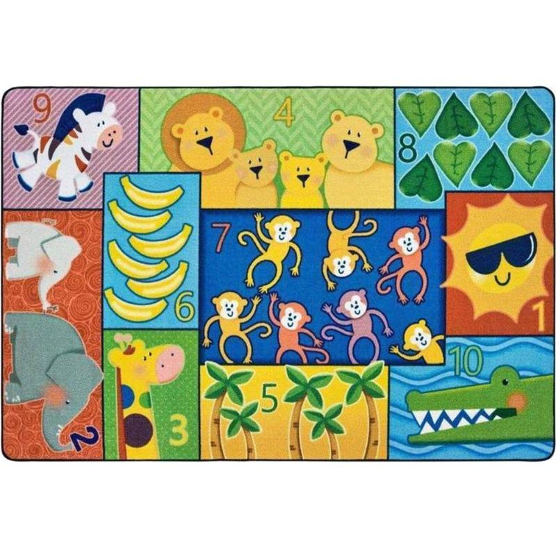 Jungle Jam Counting Factory Second Rug