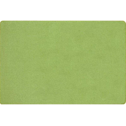 Just Kidding Lime Green Area Rug