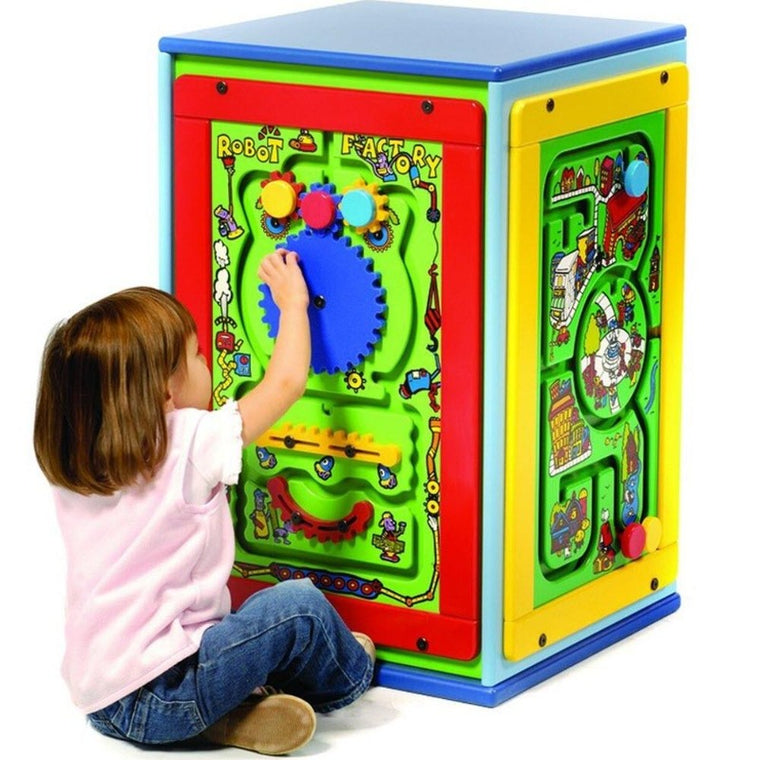 Kiddie Activity Play Cube